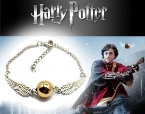 BRANSOLETKA HARRY POTTER Golden Snitch Wings