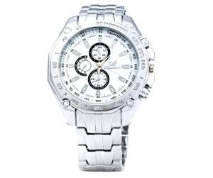 f3c313d7749d17 Srebrny zegarek Stalowy ORLANDO Męski Srebrny zegarek Stalowy ORLANDO Męski