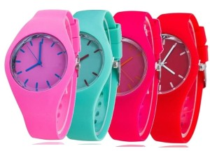 Zegarek jelly watch GENEWA Candy silikonowy