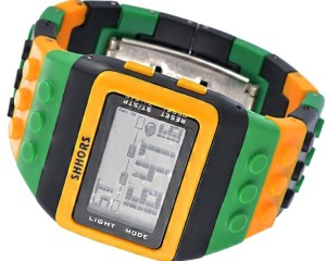 Kolorowy Zegarek jelly watch Shhors led G