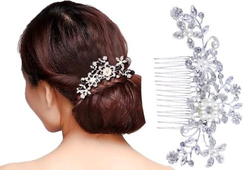 f9b79196fda5e3 Grzebyk na ślub stroik ozdoba do włosów cyrkonie New - Sklep internetowy  EdiBazzar