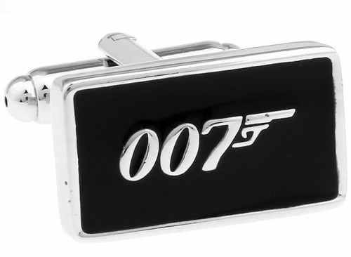 SPINKI DO MANKIETÓW DLA NIEGO 007 BOND