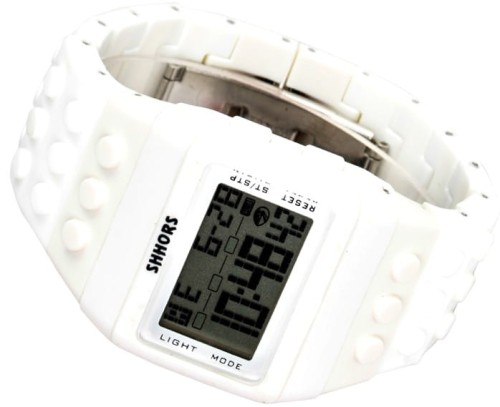 Kolorowy Zegarek jelly watch Shhors led D