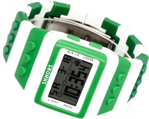 Kolorowy Zegarek jelly watch Shhors led E