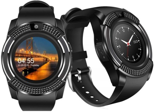 SMARTWATCH ZEGAREK V8 NEW MODEL 2019 KAMERA SIM MENU PL
